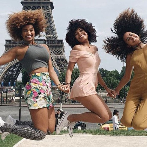 The 15 Best Black Travel Moments You Missed This Week: Jumping for Joy in Paris